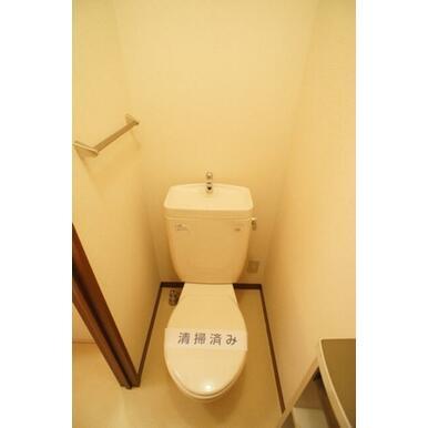 バス・トイレ別!トイレは、きちんとクリーニング済!