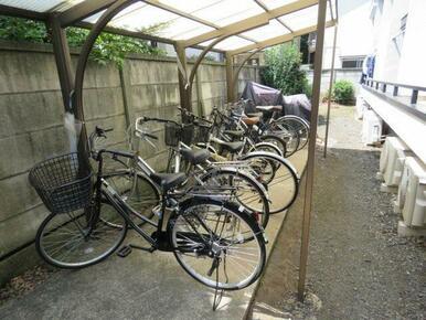 自転車駐輪可