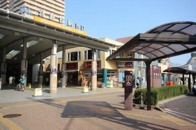 東武スカイツリーライン〝北越谷駅〟の様子