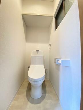 1階新品に交換済みのトイレです。