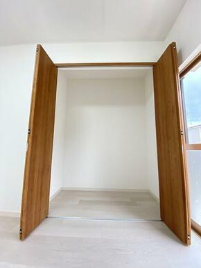2階南側洋室の収納です。