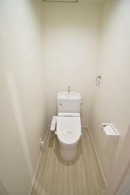 毎日使うトイレはウォシュレット付き多機能トイレ