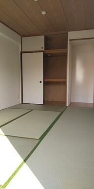 広めの収納付で使いやすい6畳和室♪