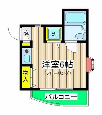 Hills Tokiwadai  間取り