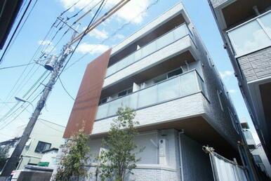 建物構造は重量鉄骨造♪3F建賃貸マンション♪