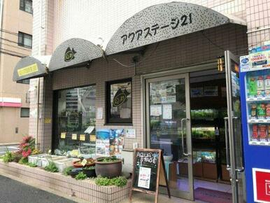 アクアステージ21東京店
