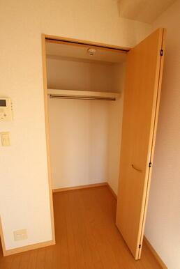 ★居室にある収納スペースです★